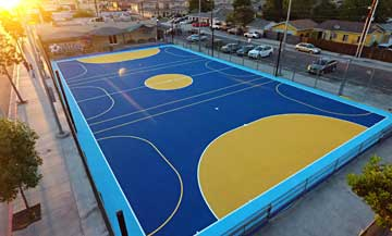 BASKETBALL COURT INSTALLATION