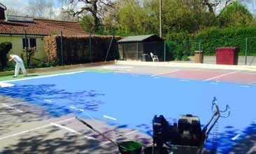 Pickleball Court Resurfacing Corona California