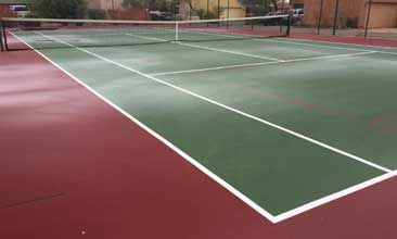 Pickleball Court Resurfacing Corona